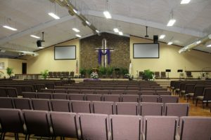 Maxdale Cowboy Church gets a new induction hearing loop system!